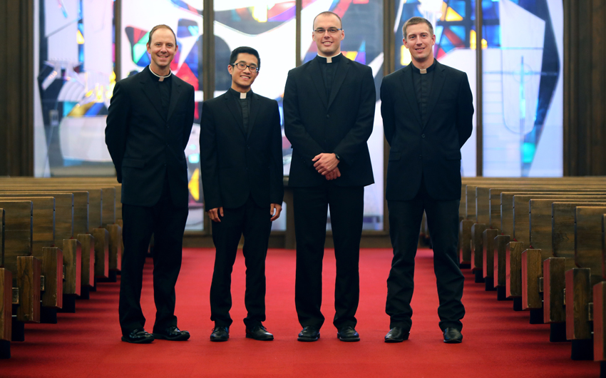 Ordinations celebrated this weekend